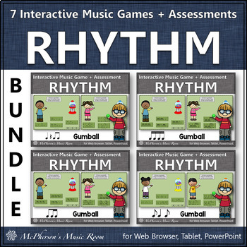 Rhythm Time Bundle Interactive Music Games + Assessments (