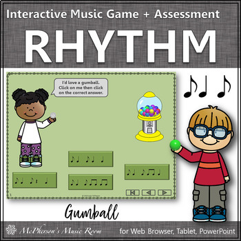 Rhythm Time with Syncopa Interactive Music Game + Assessme