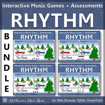 Rhythm Tree Farm - Bundle Interactive Music Games plus Ass