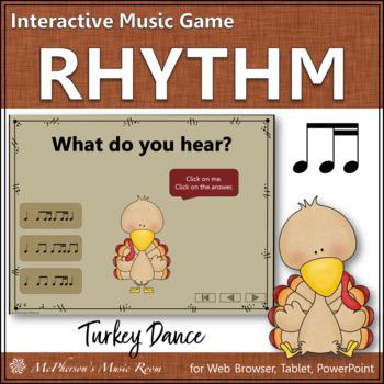 Rhythm Turkey Dance Interactive Music Game {ti-tiri / ti-tika}