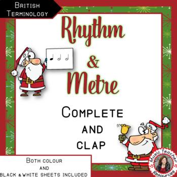 Rhythm and Time Signatures with a Santa Theme