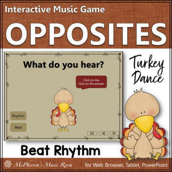 Rhythm vs Beat - Turkey Dance Interactive Music Game