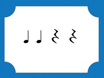 Rhythmic Flash Cards