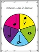 Rhythmic Notation Spinner Games