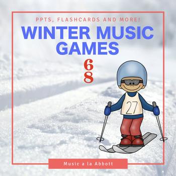 Rhythmic Winter Games for the Music Room: 6/8 meter