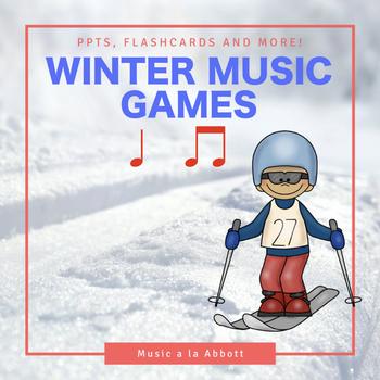 Rhythmic Winter Games for the Music Room: ta & ti-ti