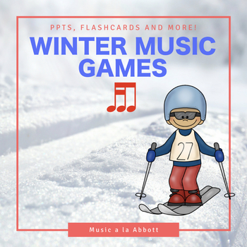 Rhythmic Winter Games for the Music Room: tika-ti