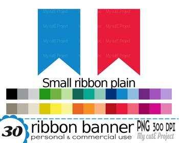 Ribbon Banner | Clipart | 30 png files | Scrapbooking Clip