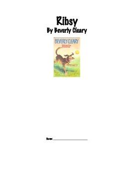 Ribsy Literature Response Log