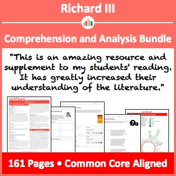 Richard III – Comprehension and Analysis Bundle