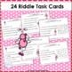Riddles for Two-Digit Numbers ~ Love Bug's Secret Numbers