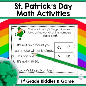 Riddles for Two-Digit Numbers ~ Lucky's Magic Number