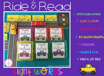 Ride & Read Sight Words