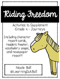 Riding Freedom - Journeys Supplemental Activities - Reader