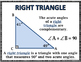 Right Triangles - Right Triangles and Trigonometry Wall Po