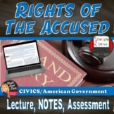 Rights of the Accused Power Point Presentation Lecture and