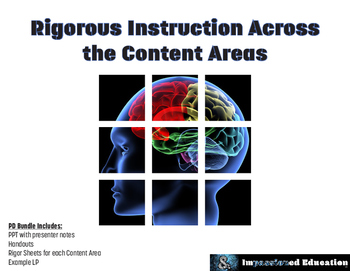 Rigorous Instruction Across Content Areas (Professional De