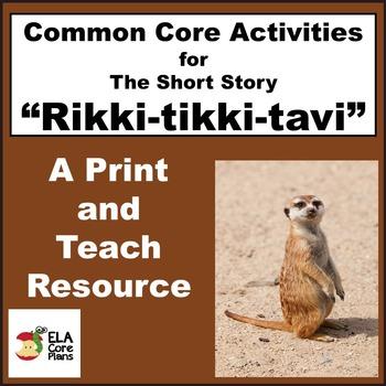 Rikki-tikki-tavi Activities, Handouts, Lesson Plans