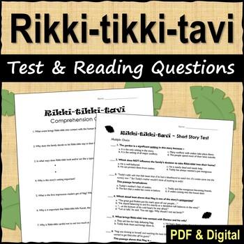 Rikki-tikki-tavi Test and Reading Questions
