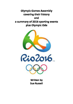 Rio 2016 Olympic Games Class Play including history, event