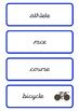 Rio 2016 Olympics Triathlon Word Cards