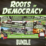 Roots of Democracy UNIT BUNDLE (Secondary World History)