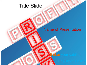 Risk PPT Template