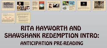Rita Hayworth and Shawshank Redemption Intro & Anticipatio