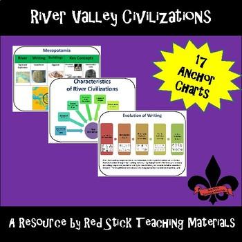 River Civilizations Anchor Charts