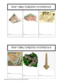 River Valley Civilizations Architecture Foldable