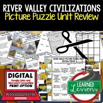 River Valley Civilizations Picture Puzzle Unit Review, Stu