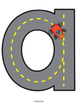 Road Alphabet Mats A-Z {NO DITTOS}