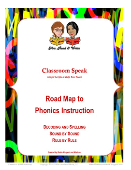 Road Map to Phonics--Scope and Sequence