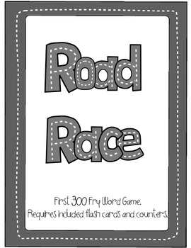 Road Race Sight Word Practice