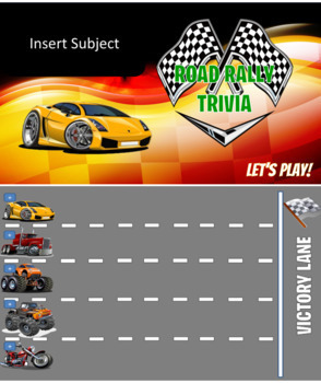 Road Rally Race Car Board (lite version)