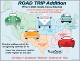 Road Trip Addition Games