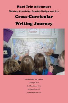 Road Trip Adventure Writing, Creativity, Graphic Design, and Art