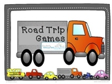 Road Trip Games: Worksheets and Games for Being On the Road