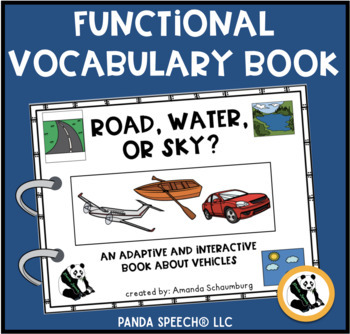 Road, Water, or Sky? An Adaptive and Interactive Book Abou