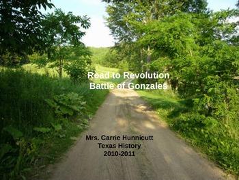 Road to Revolution - Battle of Gonzalez