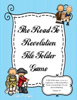 Road to Revolution File Folder Game