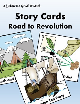Road to Revolution Story Cards