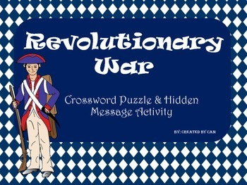 Road to Revolution Activity Packet