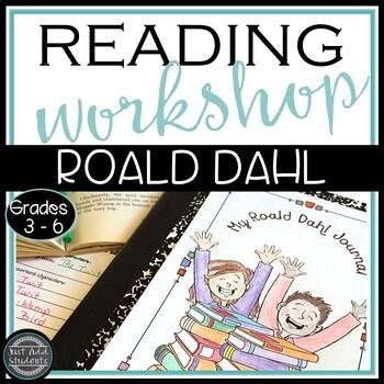 Roald Dahl • Author Study • 40 Book Challenge • Reader's W