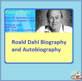 Roald Dahl Biography and Autobiography