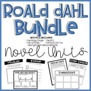 Roald Dahl Bundle-Print and Go Novel Units