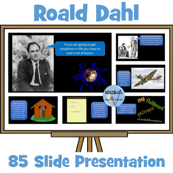 Roald Dahl Centenary Assembly / Lesson PowerPoint - The Li