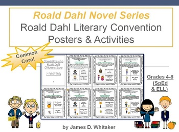 Roald Dahl Literary Conventions Posters and Activities Com