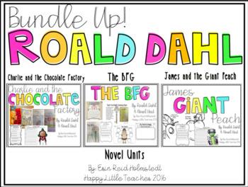 Roald Dahl Novel Units {The Bundle of 3}