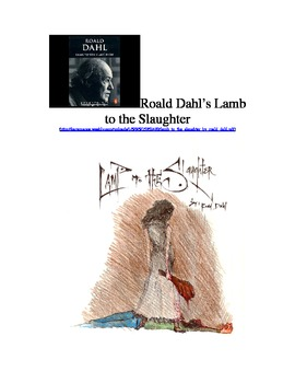 """Roald Dahl's """"Lamb to the Slaughter"""" Story Prediction"""